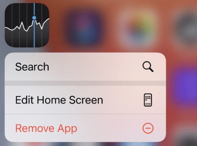 move apps on iPhone- edit home screen