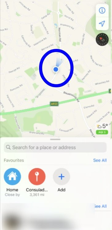 Get directions with Maps on iPhone