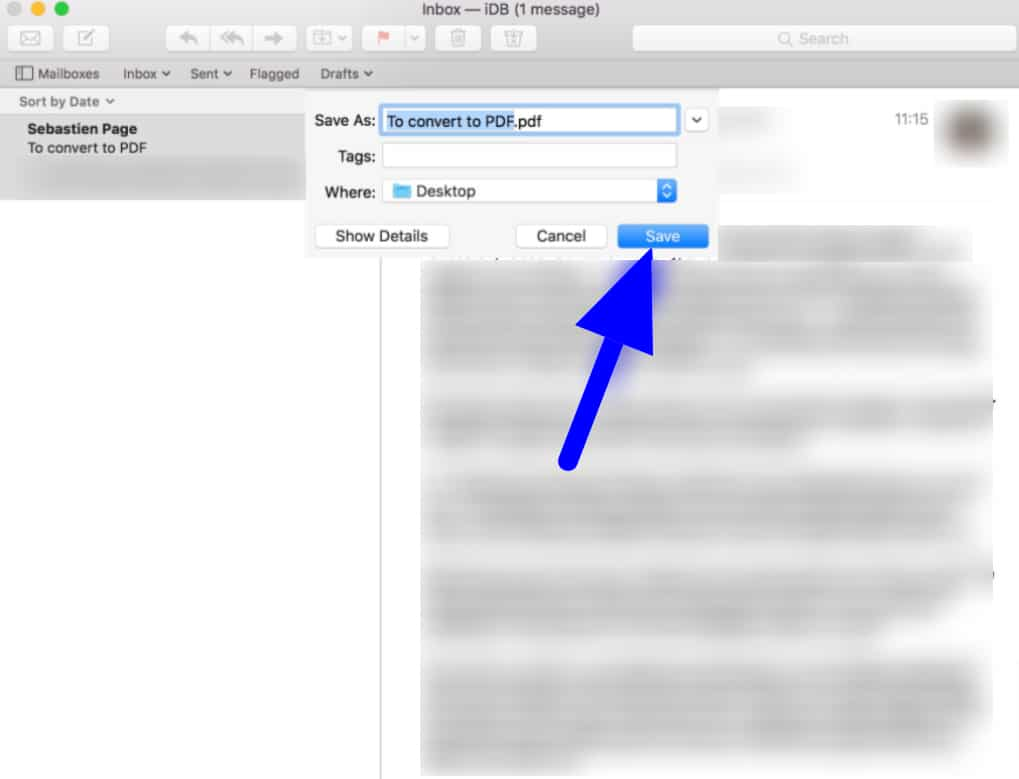email as pdf using a third-party app and the Shortcuts App
