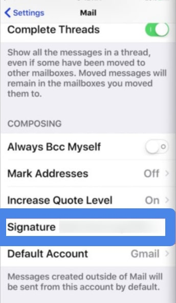 Sending an email from Mail App