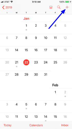 Use Family Sharing with the Calendar app
