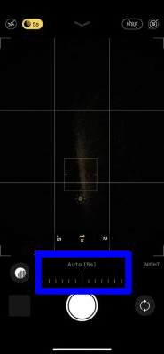 Manually change the level of Night mode effect