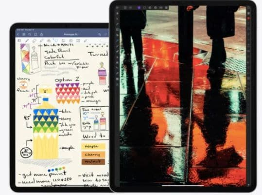 Specifications and software iPad Pro 2021