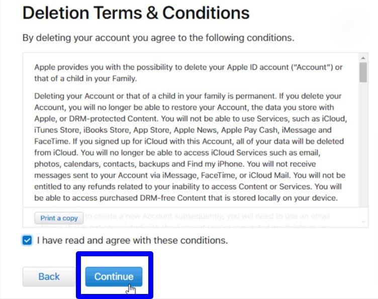 Apple data and privacy portal