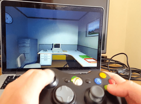 Controller concerted with Macbook