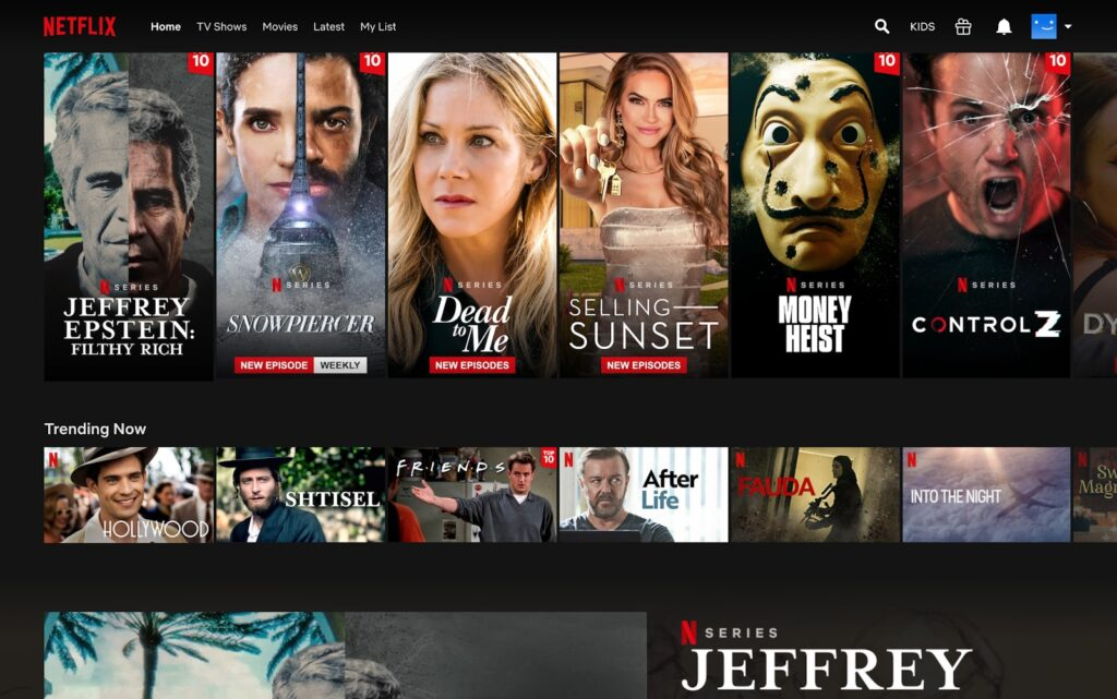 Set up and use Netflix Party